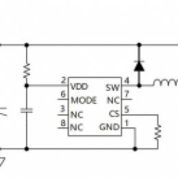 低成本的LED汽车驱动IC内置功率管_输出可达15w