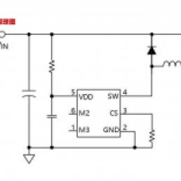最全的5-100V内置MOS低成本车灯IC