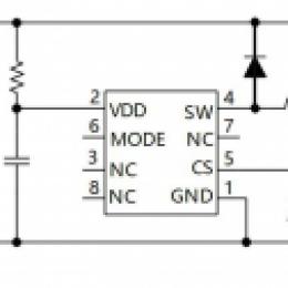 AP2911高低亮车灯IC_外围无需改动_无节点_带过温保